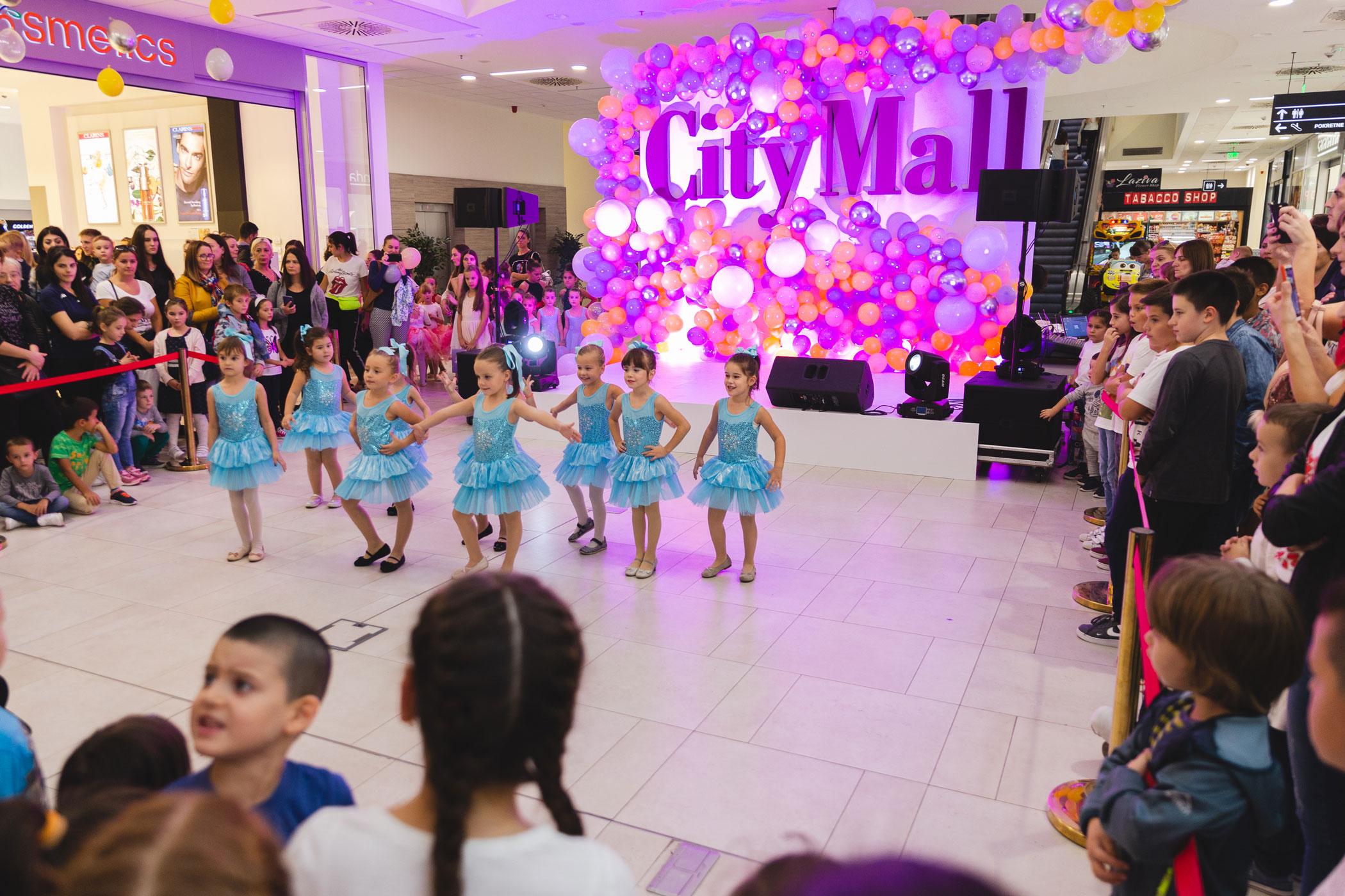 City Mall celebrates its third birthday